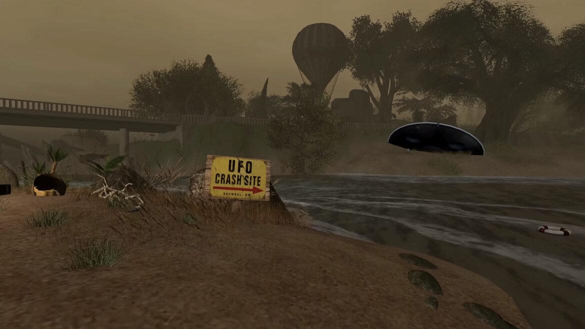 The Hidden Outskirts Of Area 51