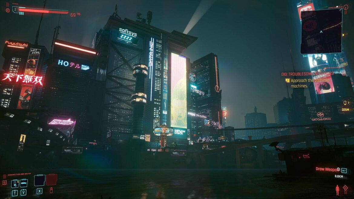 Cyberpunk 2077: Night City Industrial Suburbs