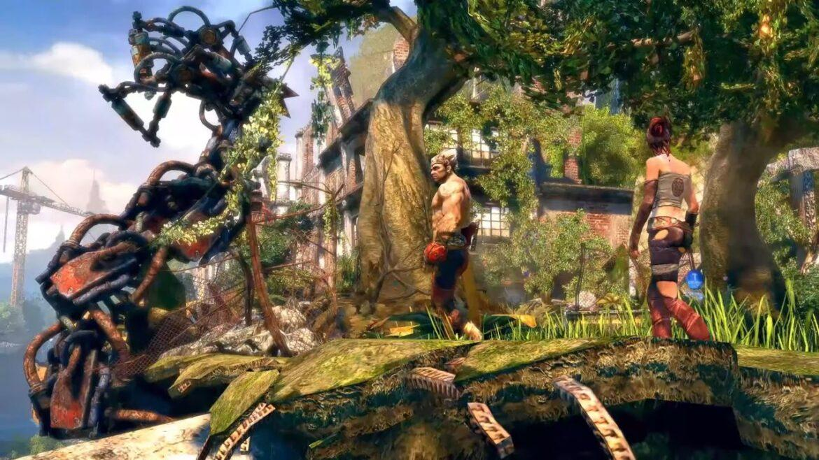 Enslaved: Odyssey to the West [Gameplay]