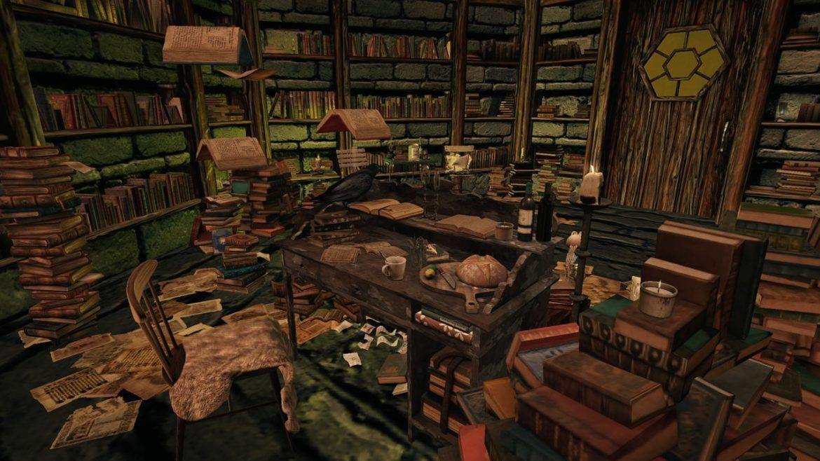 Fireplace Library Curation